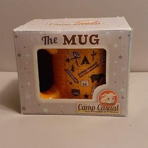 Camp Casual Mug- New In Box